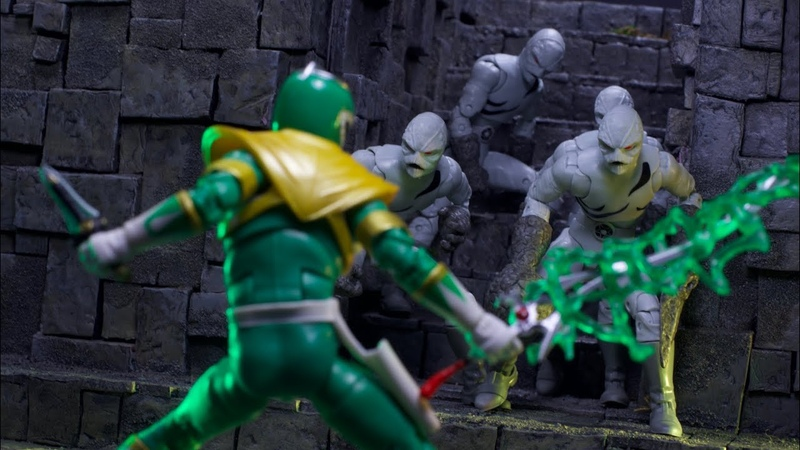 Hasbro Lightning Collection: Fighting Spirit Green Ranger and Putty Two Pack Video