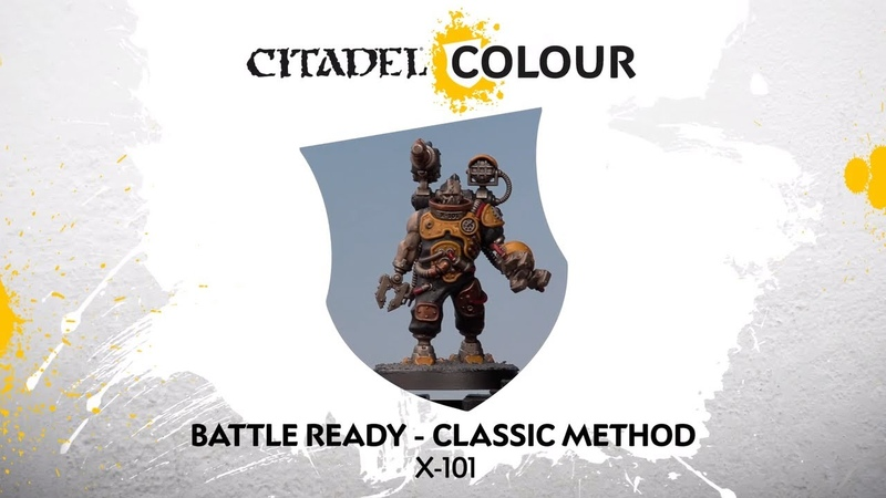 How to Paint: Battle Ready X-101 – Classic Method