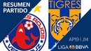 Resumen Veracruz vs Tigres UANL Jornada 14 Apertura 2019 Liga BBVA MX