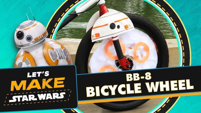How to Make a BB-8 Bike Wheel | Lets Make Star Wars