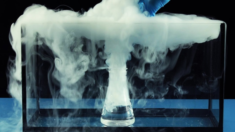 Density of Gases SF6 liquid nitrogen dry ice Skyfall