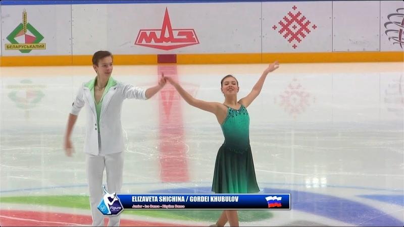 Гордей Хубулов / Елизавета Шичина - Ice Star 2019 Junior - ID RD - 15.10.2019 Shichina Khubulov