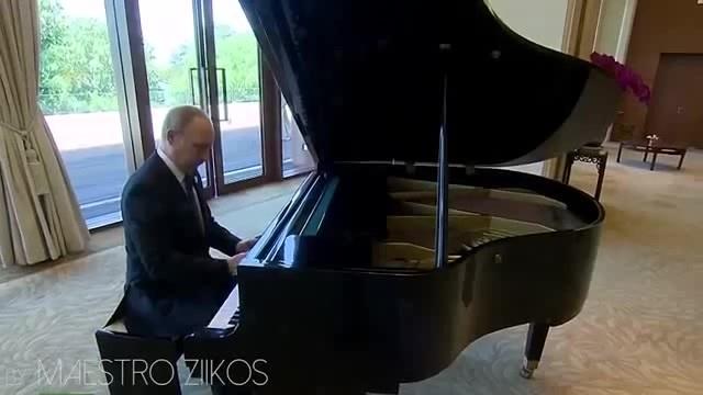 Señorita Donald Trump Piano Version Ft Vladimir Putin Shawn Mendes Camila Cabello · coub коуб