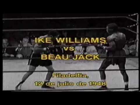Ike Williams vs Beau Jack en español