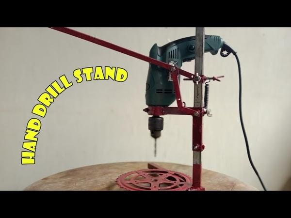 Stand for Your Hand Drill | Membuat Dudukan Bor Tangan