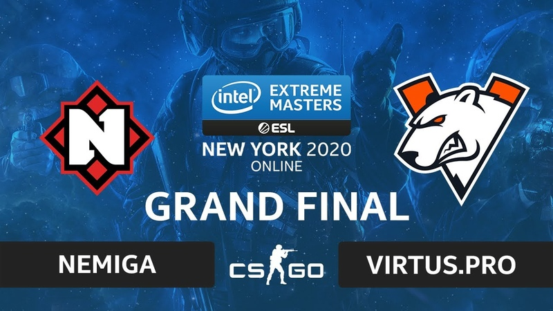 CSGO - Virtus.pro vs Nemiga [Dust2] Map 2 - IEM New York 2020 - Grand Final - CIS