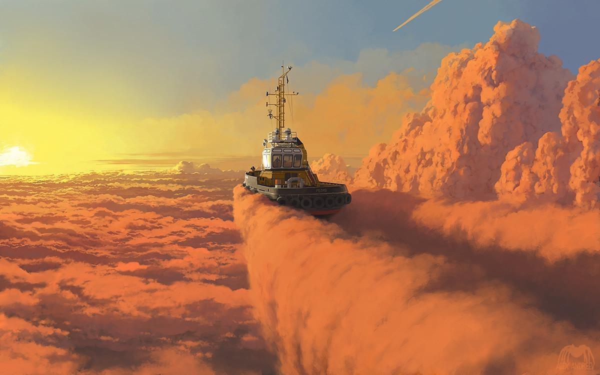 Фантастические миры Алексея Андреева