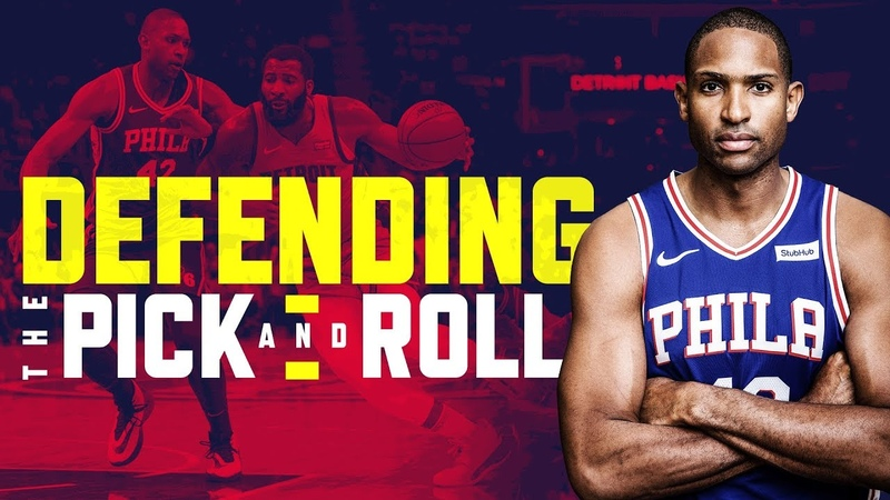 How Al Horford bolsters the Sixers' pick and roll defense Film Review NBC Sports Philadelphia