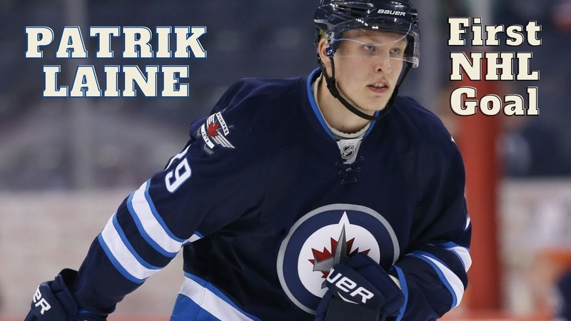 Patrik Laine 29 (Winnipeg Jets) first NHL goal 13102016 (Classic NHL)