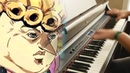 Giorno's theme but it's actually played on a piano