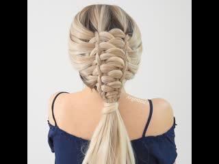 Мастер класс плетения красивой и оригинальной косы