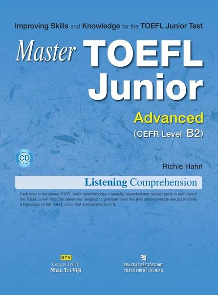 hahn richie master toefl junior advanced b2 listening compre