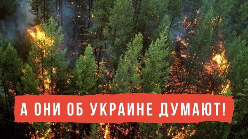 Росія гине у пекельному вогні!