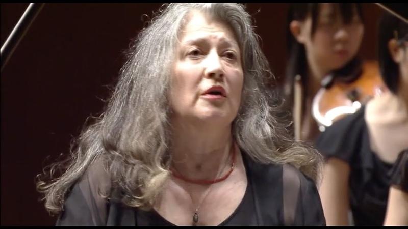 Martha Argerich plays Bartóks Piano Concerto No.3 (cond. Bashmet) - Japan, 2007