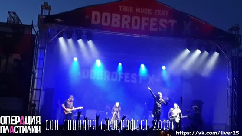 Операция Пластилин Сон Говнаря Доброфест 2019