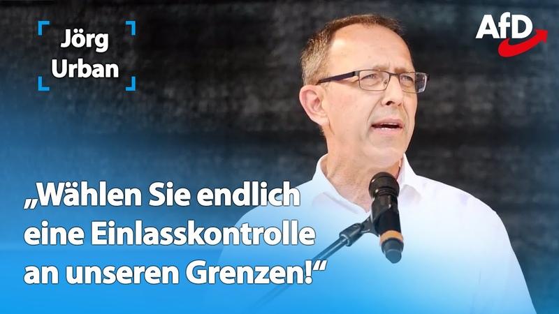 Jörg Urban Zeit für einen Machtwechsel in Sachsen