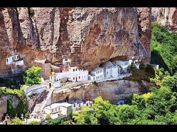 Крым Бахчисарай Свято Успенский мужской монастырь 2 августа 2015 года