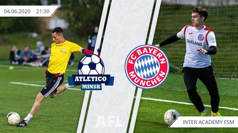 1 week Atletico Minsk 6 0 Bayern Minsk