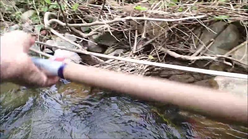 Pilou34 pr sente pêche de la truite avec Aur lie et Yannick