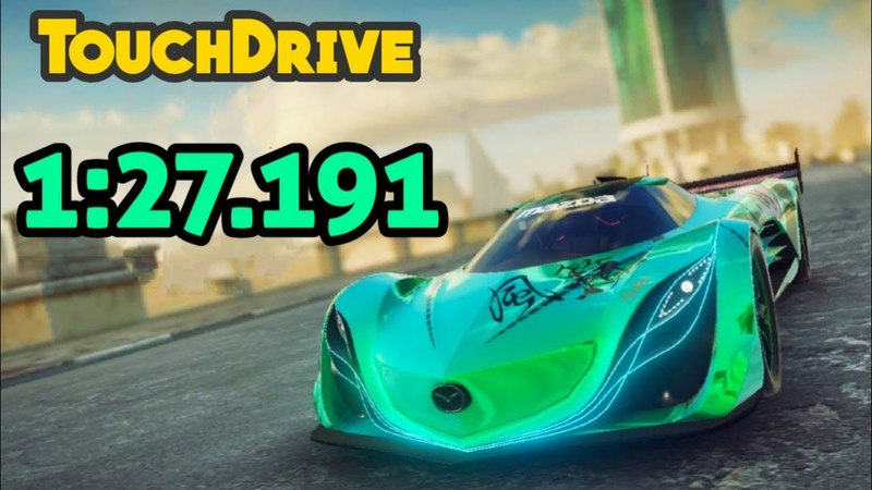 TouchDrive Asphalt 9 Weekly Competition THOUSAND MINARETS MAZDA FURAI 1 27 191 Top 5%
