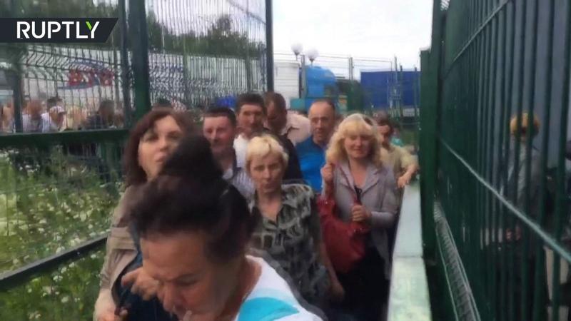 Галопом до Европы украинцы бегут в Польшу после введения безвизового режима с ЕС