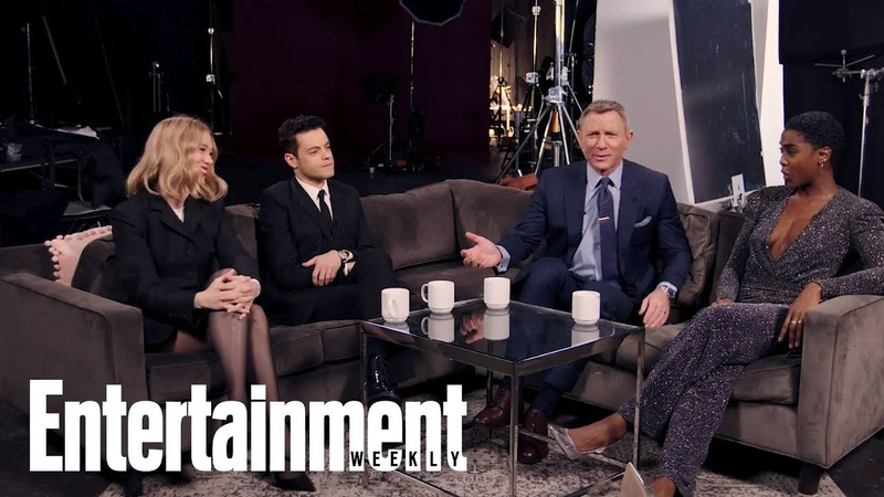 No Time to Die's Daniel Craig Rami Malek More Share Their First 007 Memory Entertainment Weekly