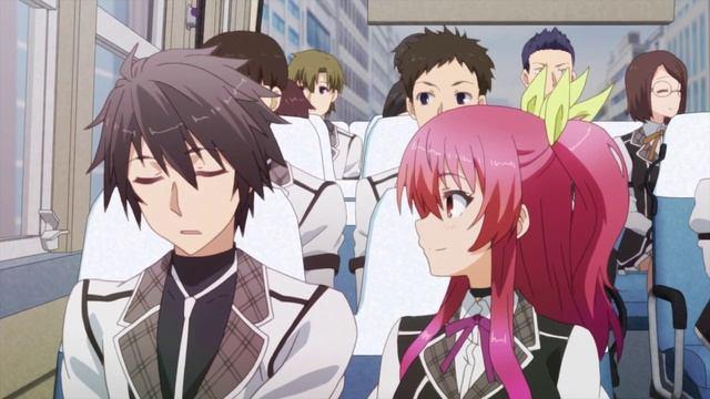 Доблесть рыцаря-неудачника / Rakudai Kishi no Cavalry - 05 серия [AniZone.TV]