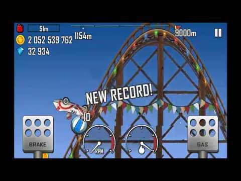 Hill Climb Racing: Rollercoaster The Rocket 1154m