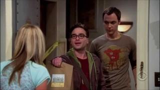 Sheldon and Leonard First Meet Penny