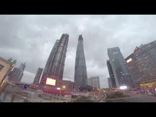 Shanghai Tower (650 meters)
