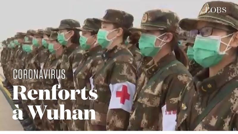 La Chine envoie 2 600 militaires supplémentaires à Wuhan pour lutter contre le coronavirus