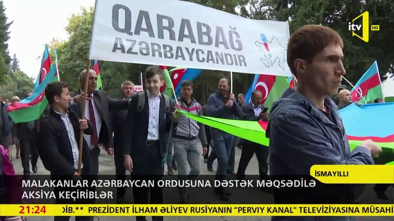 Malakanlar Azərbaycan Ordusuna dəstək məqsədilə aksiya keçiriblər