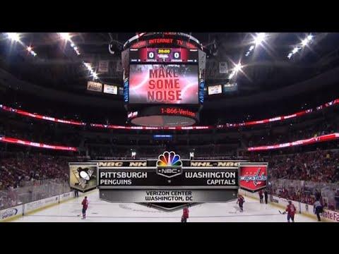 Pittsburgh Penguins @ Washington Capitals NHL Regular Season Sunday 22nd February 2009