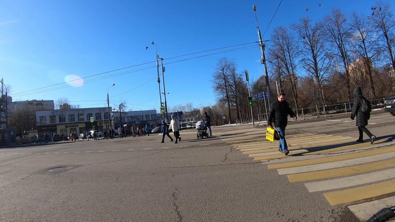 Болотниковская улица на элетро самокате Speed Savage от Москворецкого рынка