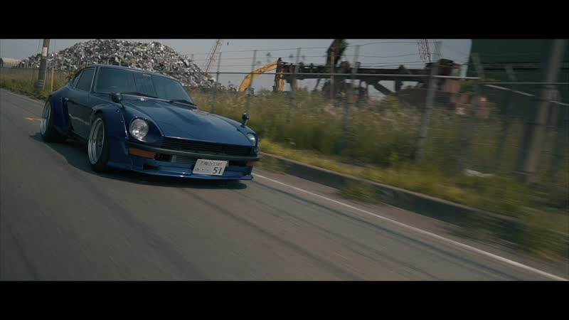Bagged S30Z with Supercharged F20C VTEC Datsun 240Z S2000 STANCE NATION Descent Media