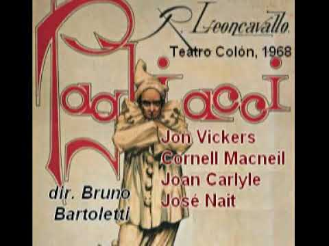 Pagliacci (1968) Vickers Macneil Carlyle Bartoletti