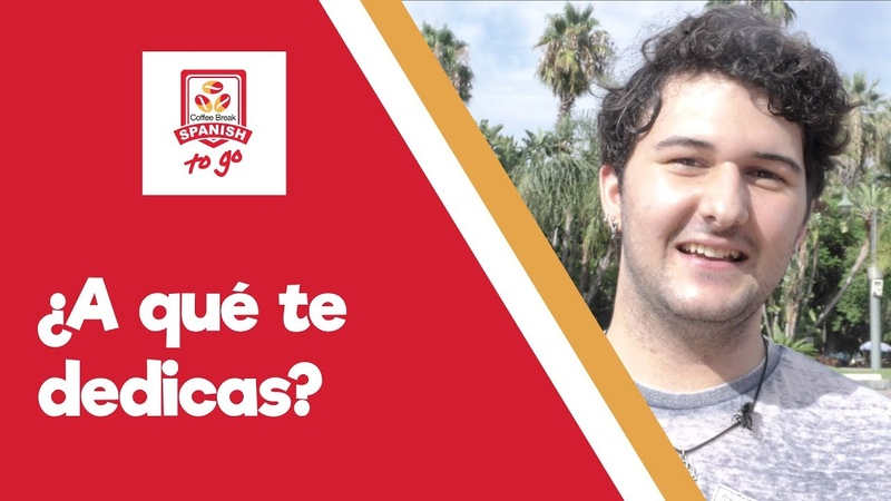 ¿A qué te dedicas Talking about your work and studies CBS To Go Episode 1 08