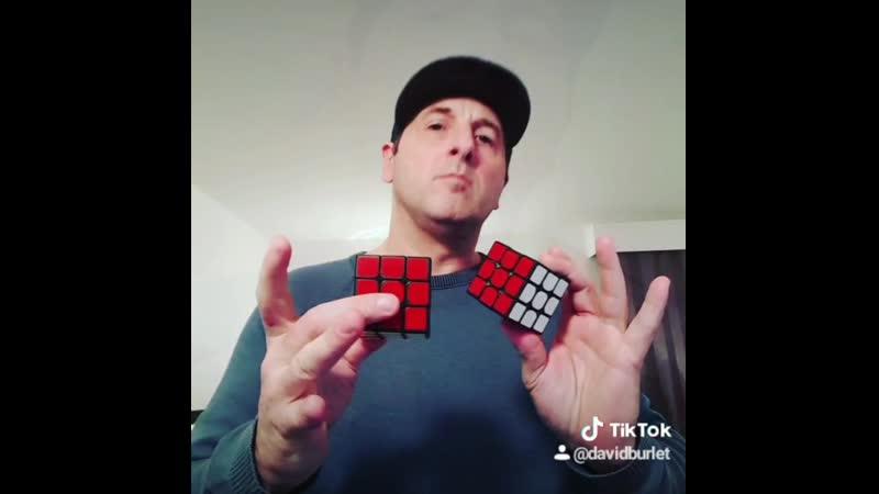 Rubiks cube magic got talent circus cirk