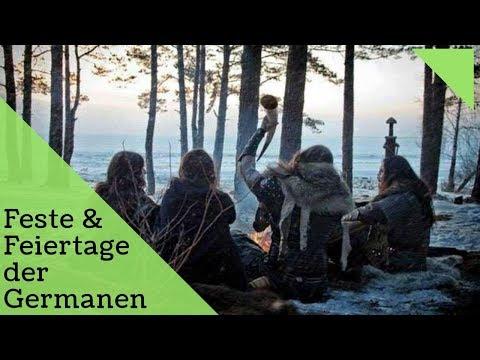 FESTE FEIERTAGE DER GERMANEN