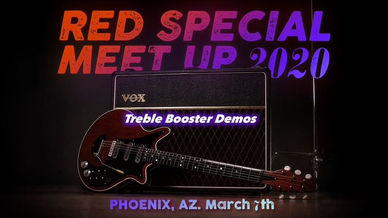 Treble Booster Demos U S Red Special meetup 2020
