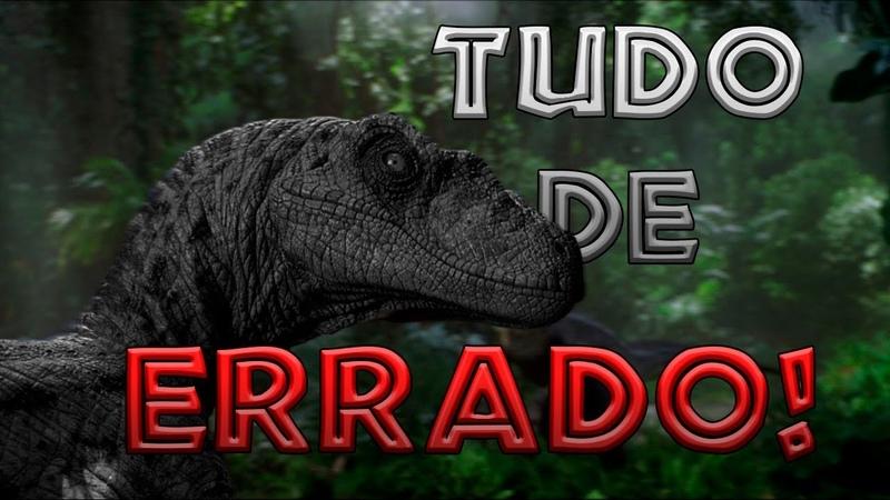 Tudo de errado com Jurassic Park 3