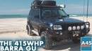 415WHP FG Turbo Barra GU Patrol 310RWKW On 19PSI 62mm Garrett 3576 1000cc Injectors