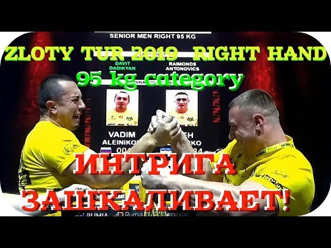 ★ ZLOTY TUR 2019 ★ 95 category ★ RIGHT HAND