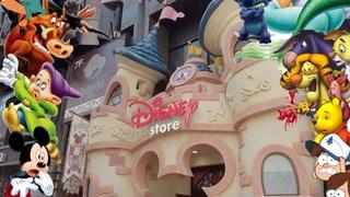 Disney Store Shibuya Tokyo Japan & Asoko Shibuya