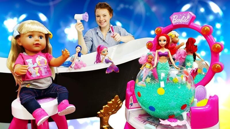 Puppenvideo auf Deutsch Spielspaß mit Barbie 3 Folgen am Stück