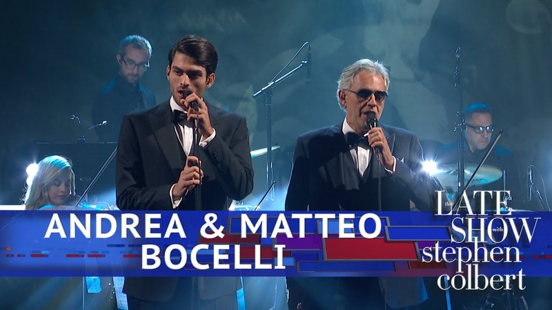 Andrea Matteo Bocelli Perform 'Fall On Me'