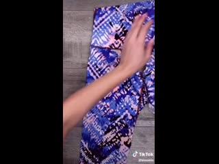 Как сделать из лосин стильную блузку