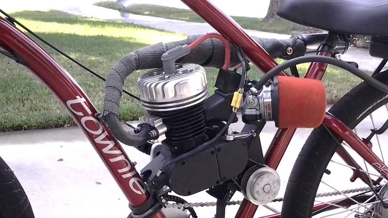 Motorized bike with shift kit 2013 Electra Townie