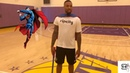 Damian Lillard proves to everyone that he actually does workout (SO FUNNY)