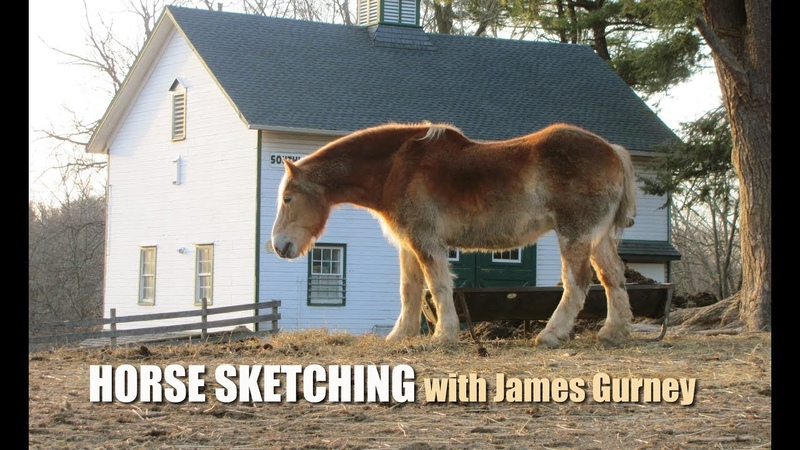 Horse Sketching with James Gurney